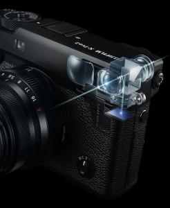 FUJI X-PRO 2 viewfinder